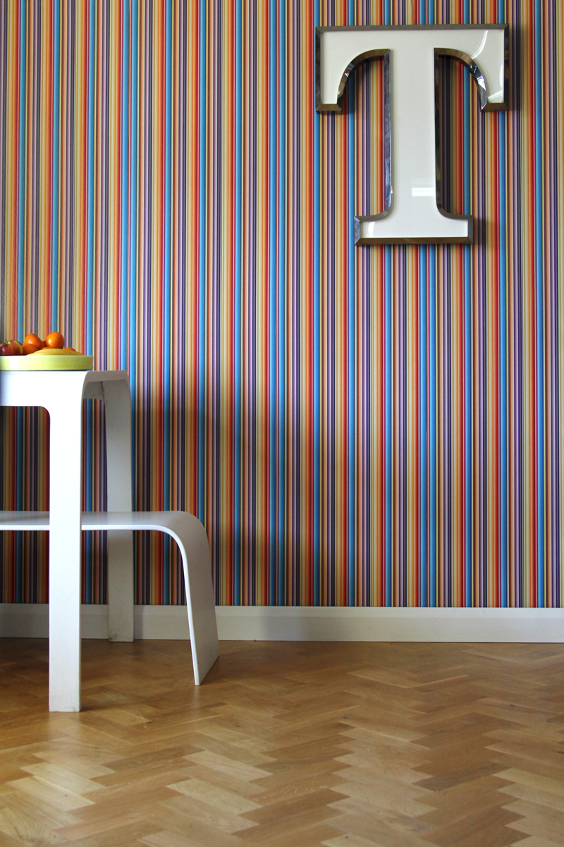 TECHNICOLOUR - Tracy Kendall Wallpaper (photo - Ros Goodway)