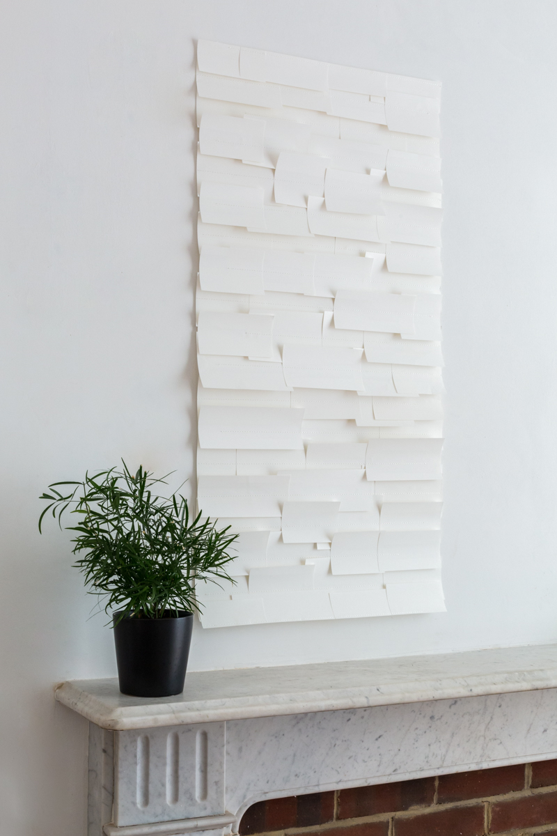 IN THE WHITE ROOM (panel) - Tracy Kendall Wallpaper (photo - Ollie Harrop)