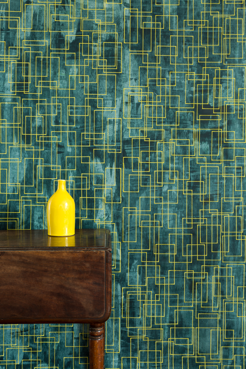 IN THE PAINTED ROOM - Tracy Kendall Wallpaper (photo - Ollie Harrop)
