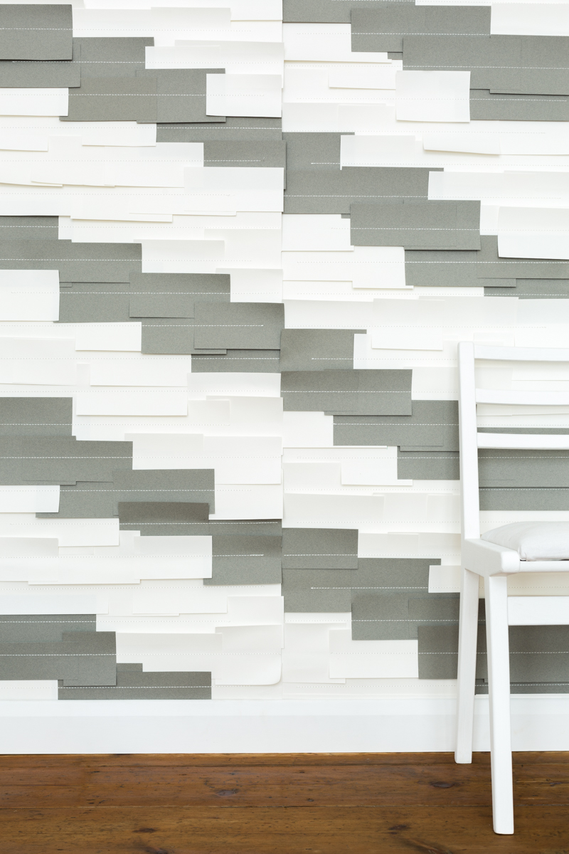 DIAGONAL ROOM - Tracy Kendall Wallpaper (photo - Ollie Harrop)