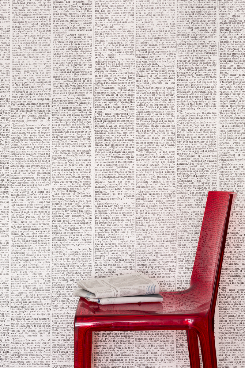 NEWSPRINT - Tracy Kendall Wallpaper (photo - Ollie Harrop)