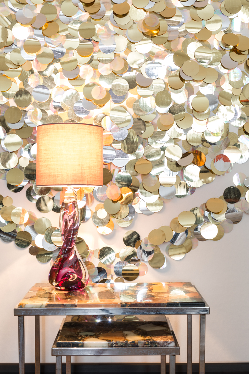 SEQUINS - Tracy Kendall Wallpaper (photo - Ollie Harrop)