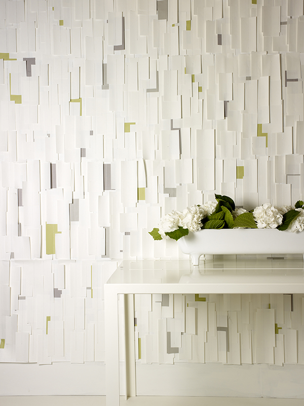 IN THE WHITE ROOM WITH COLOUR - Tracy Kendall Wallpaper (photo - Rachel Smith)